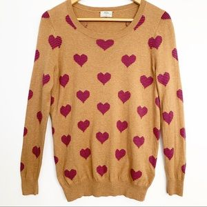 Madewell Sweaters   Wallace Heart Sweater